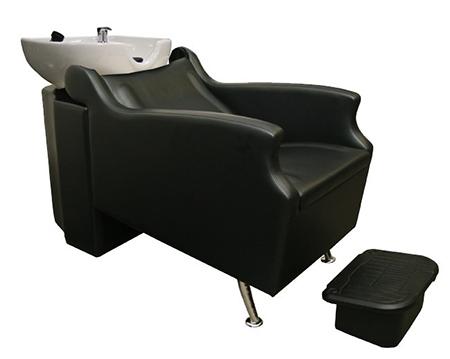 Comfortable shampoo chairs at Bella Hair in Morgantown, WV
